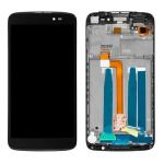 iPartsBuy for Alcatel One Touch Idol 3 5.5 LTE / 6045 LCD Screen + Touch Screen Digitizer Assembly with Frame