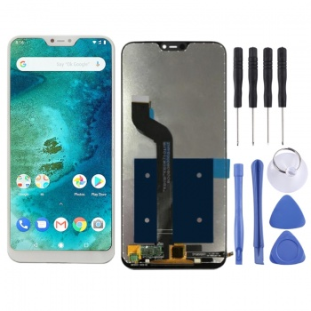 LCD screen and touch screen for Xiaomi Mi A2 Lite.