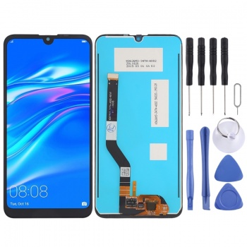 LCD Screen and Digitizer Full Assembly for Huawei Y7 Prime  (2019)