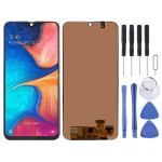 LCD Screen and Digitizer Full Assembly for Galaxy A20