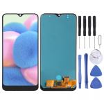 LCD Screen and Digitizer Full Assembly for Galaxy A30s