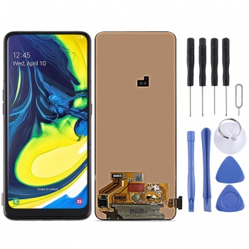 LCD Screen and Digitizer Full Assembly for Samsung Galaxy A80